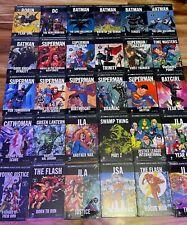 Eaglemoss Dc Comics Hardcover Assorted Comic Book Graphic Novels Tpb You Pick