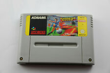 Jeu International Superstar Soccer (ISS) pour Super Nintendo SNES version PAL