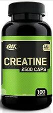 Treehousecollections: Optimum Nutrition Creatine 100 Capsules