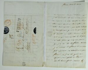 Caroline Bonaparte Napoleon Sister Queen of Naples Letter Signed 1833