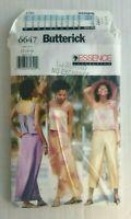 Butterick 6647 Misses Top Skirt Pants Sewing Pattern Size 12-16 OOP UNCUT