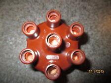 Early Dark Bakalite OE NOS Bosch#ZVS75Z4,1235522103,6-Cyl.Dist Cap 300,W186,W188