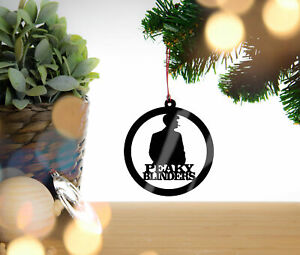 Peaky Blinders Personalised Christmas Decoration Hanging Tree Decoration