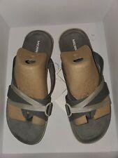 New Merrell District Ring Womens Thong Sandal Black Tan Grey Green Shoes Sz 7 M