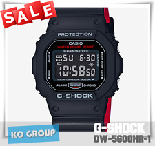 BRAND NEW WITH TAG G-Shock 200 BLACK X RED COLOR, Resin Strap, DW5600HR-1