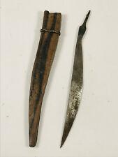 Vintage WW2 WWII Filipino Bolo Knife NO HANDLE wood philippines NICE