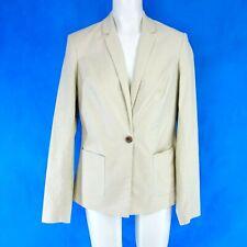 Maison Scotch Damen Business Blazer Jacke Größe XS 34 M 38 Beige Np 169 Neu