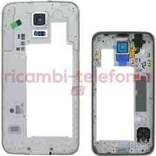 cadre moyen frame Samsung G900 Galaxy S5 noir corps central coque structure