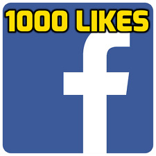 1000 (1K) Facebook Page-Likes   High Quality, Safe & Instant