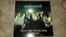 Underoath-they're-on ly-chasing-safety-1 Poster Flat-2 Sided-12X12Inches-Nmint