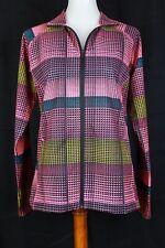 Slazenger Womens Mediun Colorful Zip Up Light Weight Jacket