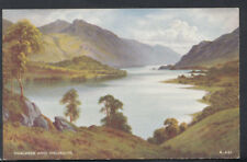Cumbria Postcard - Thirlmere Lake and Helvellyn   RS11619