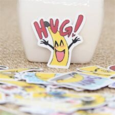 40 Pcs The sprouting banana people daily Stickers for phone waterproof Scrapbook