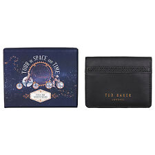 Ted Baker - 6 Copper Plated Collar Stiffeners in Black Brogue Case and Gift Box