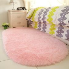 Area Rug Carpet Floor Mat Pink Nursery Home Girl Room Playroom Decor New