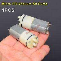 DC 3V 5V 6V Small Mini 130 Motor Air Pump Vacuum Negative Pressure Oxygen Pump