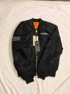 NWT Republic Records Alpha Industries XL Bomber Jacket