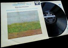 Beethoven: Symphony No. 4 - Ansermet **Decca SXL 2116 WBg ED1 LP**