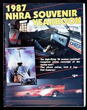 1987 NHRA SOUVENIR YEARBOOK