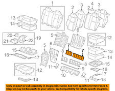 Hummer GM OEM 2010 H3 Rear Seat-Trim Panel Right 15210587