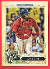 David Ortiz Short Print SP 300 2017 Topps Gypsy Queen Red Sox MINT Boston