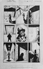 Gary Frank Doomsday Clock Original Comic Art  #1 p7, Batman, Watchmen, Superman