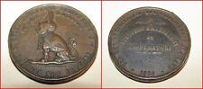 Medaglia in bronzo Vittorio Emanuele II ai cooperatori 1884
