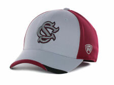 887b9598d35 South Carolina Gamecocks Top of the World Grizzly NCAA College Stretch Fit  Cap