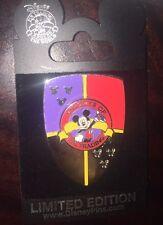 Disney Pin Trading Night Knight Mickey Silver Shield Le 500 2007 Knights