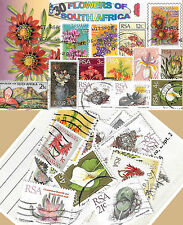 CHARITY STAMP PACKET FLOWERS OF SOUTH AFRICA 30 STAMPS 0336