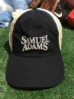 Samuel Adams beer Sam adjustable strap back mesh  Hat Cap H23