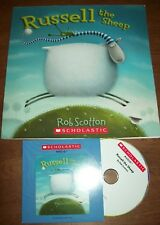 Russell the Sheep Scholastic Listening Center Set  book & CD Homeschool Daycare