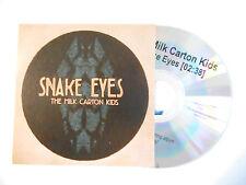SNAKE EYES : THE MILK CARTON KIDS ( + FICHE MEDIA ) ♦ CD SINGLE PORT GRATUIT ♦
