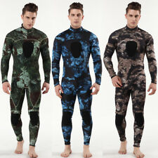 Neoprene 3mm Winter Wetsuit  Camouflage Spearfishing Diving Snorkeling Suit