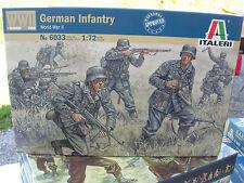 1/72 MILITAIRE WWII 50 Figurines soldats INFANTERIE ALLEMANDE ref 6033