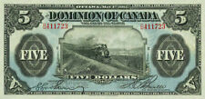 Dominion of Canada, 5 Dollars, 1912, P.30, REPRODUCE