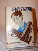 SANCTUARY by William Faulkner Modern Library HC/DJ 1932 Rare #61 Vintage