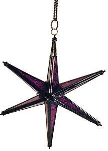 Star of David CandleHolder Porch Window Lantern Beautiful Gift Nice 6 Points