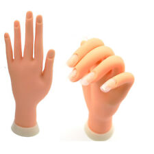 Silicone Nail Practice Hands Mannequin Female Model Display Insert Just One