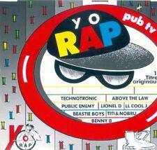 RARE YO RAP CD 15T (public enemy,beastie boys,l l cool j,slick rick,hijack) 1990