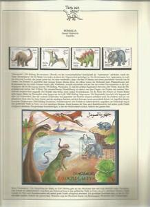 81572/ Dinosaurier Fauna Tiere ** MNH OHNE VORDRUCK SOMALIA