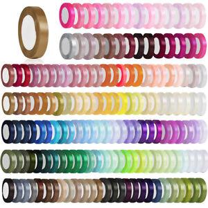 "25 Yards 3/2""38mm Satin Ribbon Craft Bow Wedding Party Favor DIY Wholesale CARN7"