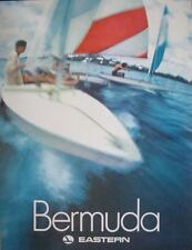 EASTERN AIRLINES BERMUDA Vintage 1970 Travel poster 30x40 SAILING