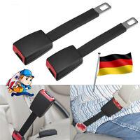 Auto Sicherheit Sitzgurt Safety Belt Extender Verlängerung Schnalle Lock Clip x2