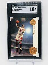 1994-95 UD SP Championship P2 Michael Jordan Playoff Heroes SGC 10 GM CHI Bulls