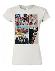 BTS Kpop Bangtan Boys Suga V JIN J-Hope Jimin Gift Men Women Unisex T Shirt N32