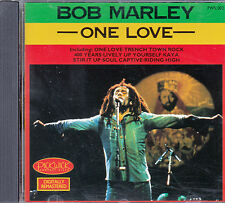 "CD ALBUM  BOB MARLEY  ""ONE LOVE"""