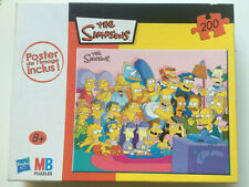 Puzzle THE SIMPSONS avec poster MB 2009