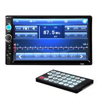 "7"" Touch Screen Autoradio Bluetooth Car Stereo MP3 Player FM/USB/SD/AUX 2DIN"