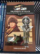 More details for doctor who target virgin blue spine the robots of death